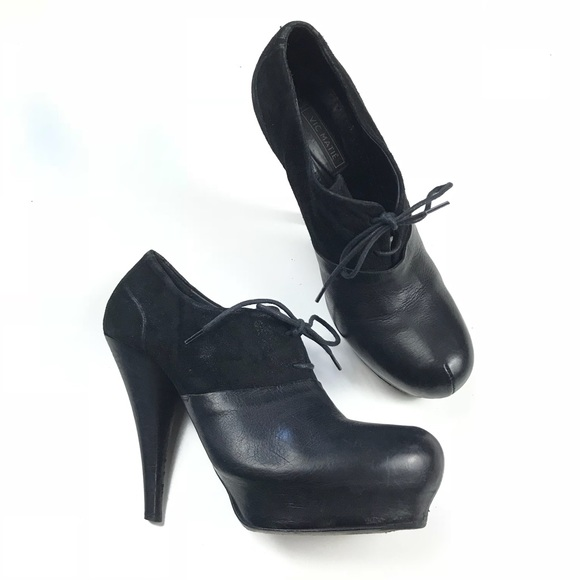 9de061a2135 Vic Matie Leather oxford booties. M 5ba95b32c61777fcdade367a. Other Shoes  ...